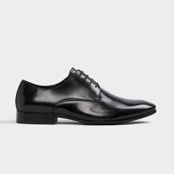 Aldo Tilawet Mens Black Dress Shoe